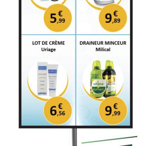 écran-vitrine-pharmacie